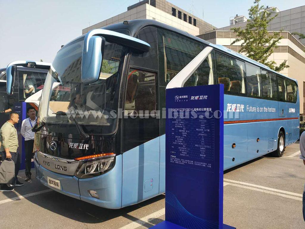北京首汽租51座金龙大巴车