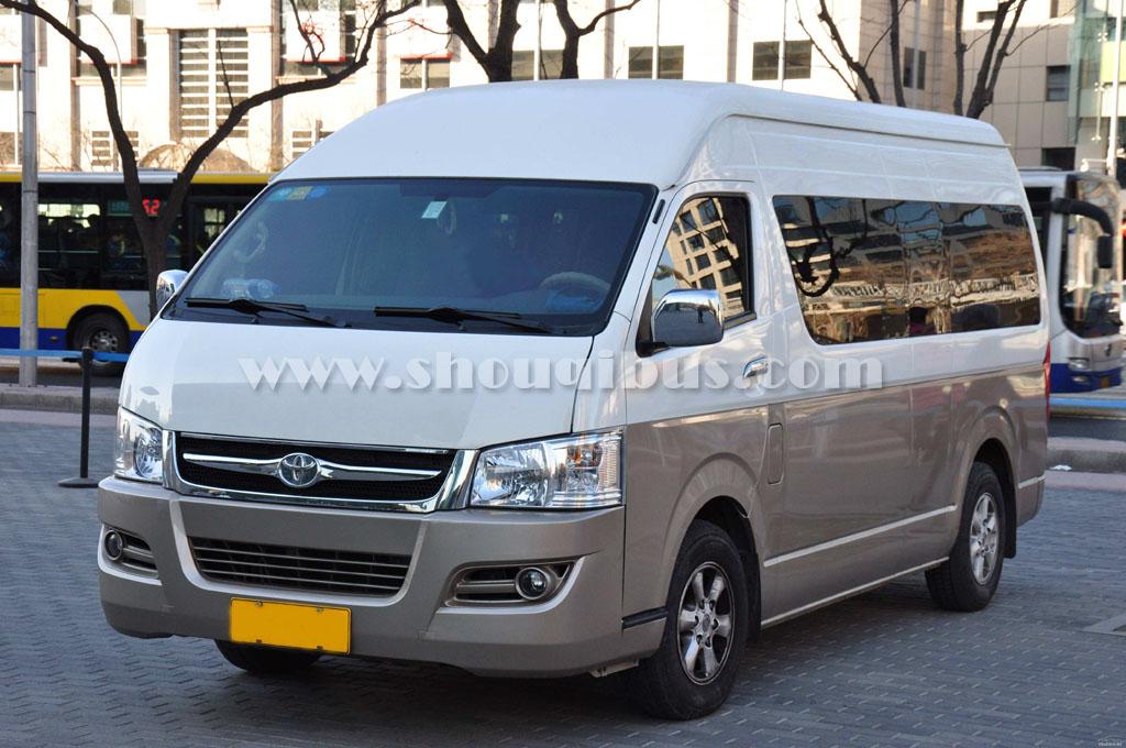 北京租中巴车丰田海狮15-17座一天多少钱?