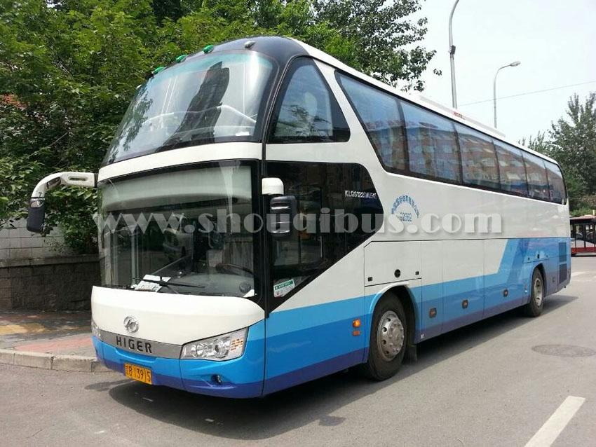 北京安凯55座豪华版大巴车租车
