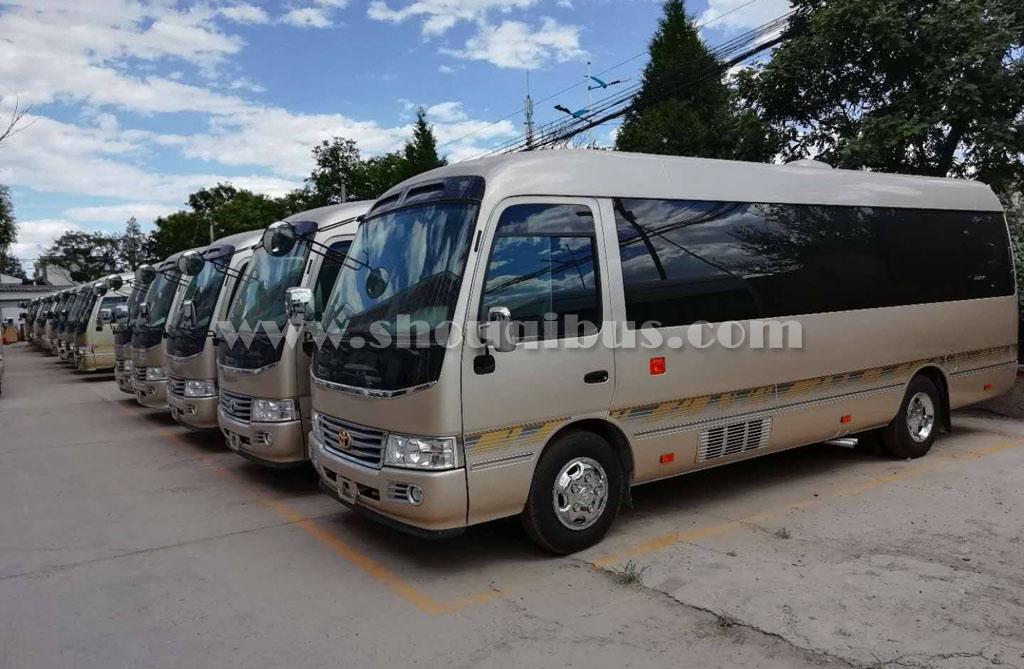 北京22座考斯特中巴租车价格说明