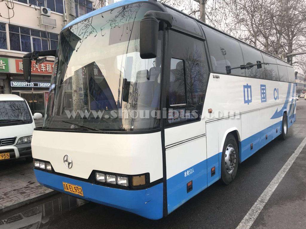 北京45座青年大巴带司机包车
