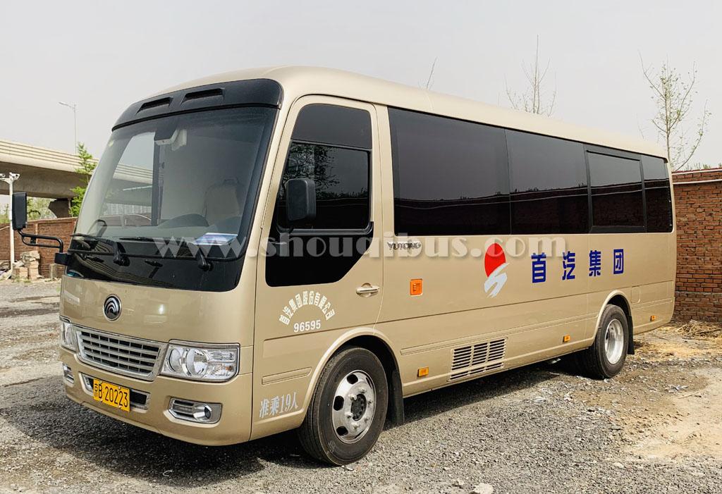 北京首汽中巴车出租:20座宇通T7租车价格