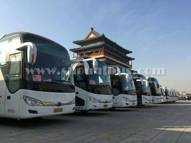 北京大巴车租赁优越性在于团体出行