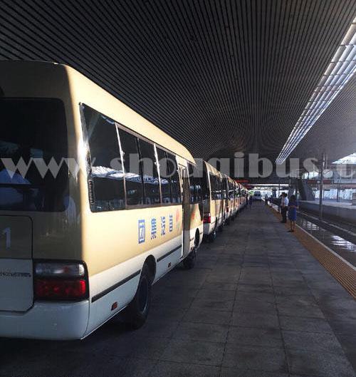 北京旅游租车可供选择的大巴车型有哪些?