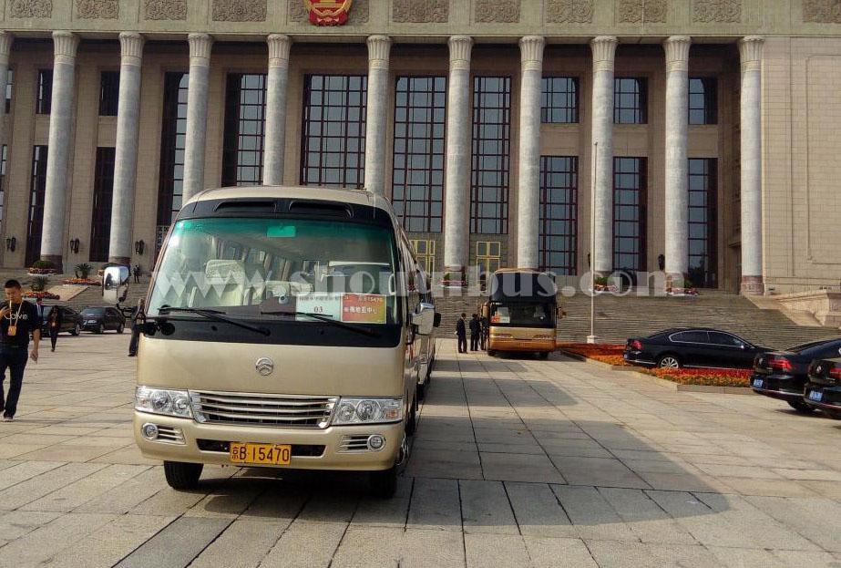 北京首汽大巴车一天费用大概是多少?