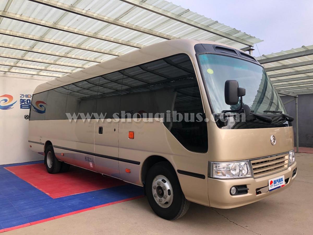 丰田考斯特(22座)北京首汽租车价格